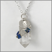 handmade artisan jewelry, crystal necklaces