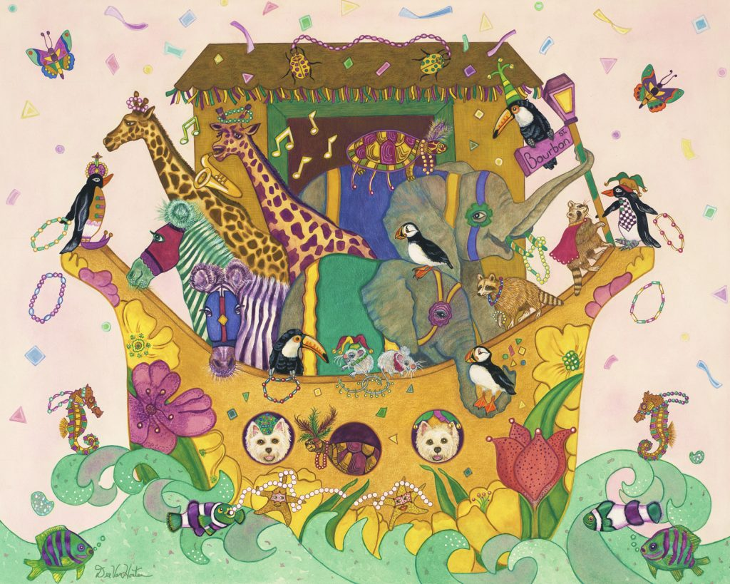Mardi Gras Art Prints