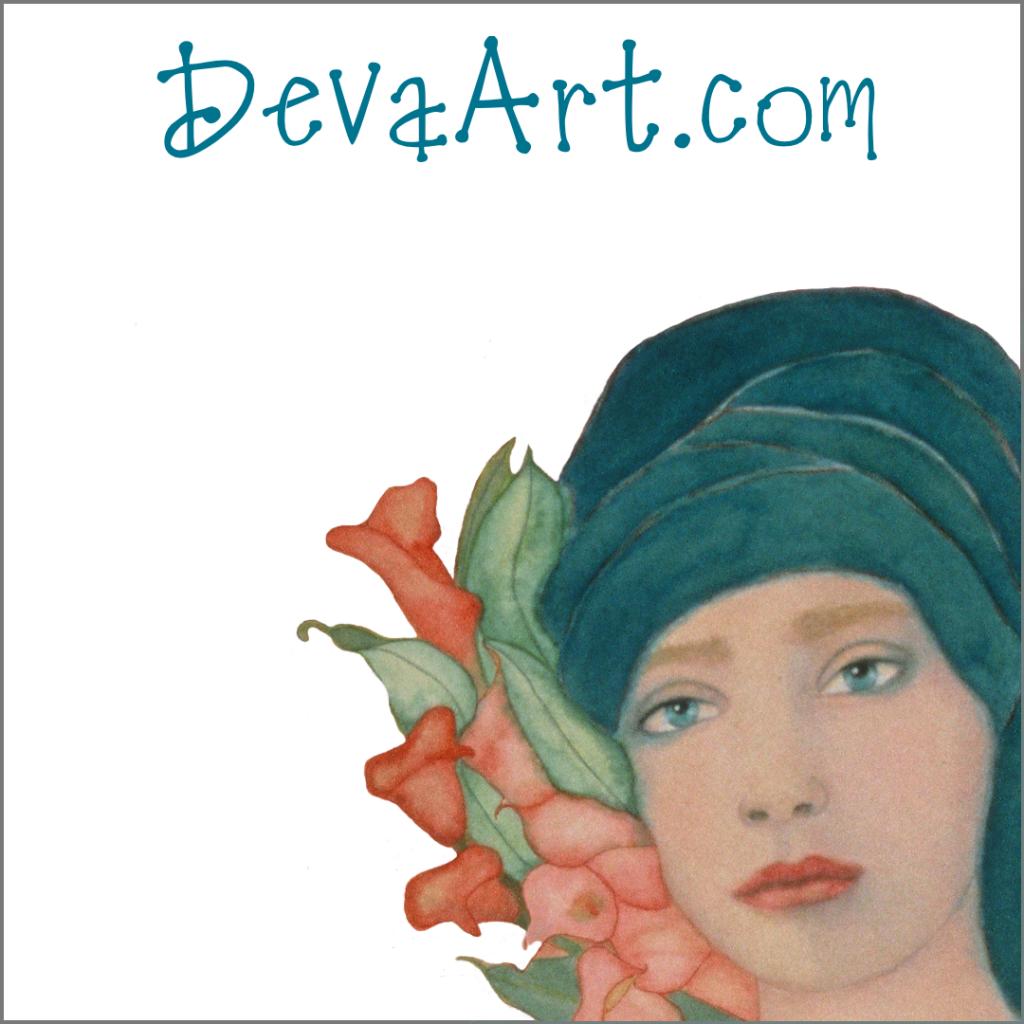 Art Nouveau original paintings