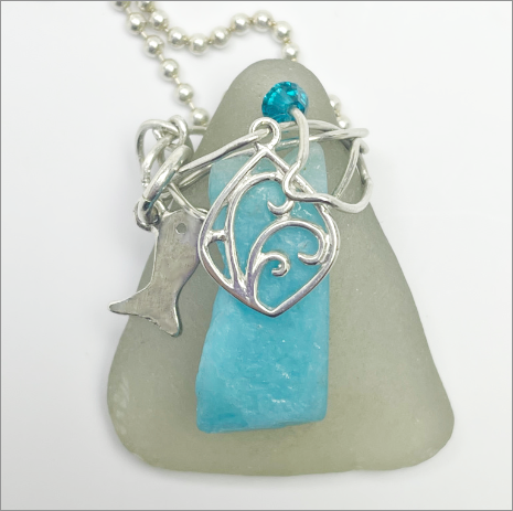 Artisan Handmade Seaglass Jewelry at devaartstudio.com